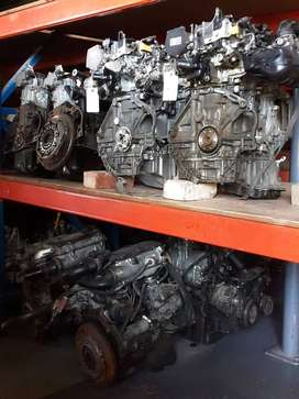 Assorted engines for sale