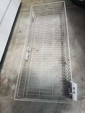 Large wire mesh storage baskets