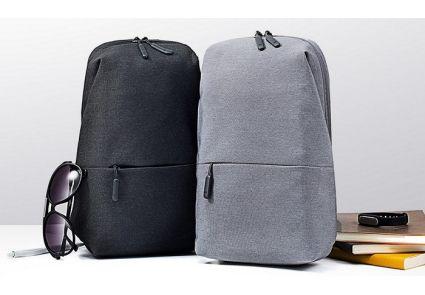 Рюкзак Xiaomi Mi City Sling Bag Light Grey Кропивницкий - изображение 4