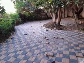 Cement bond paving Supply and installation