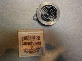 Sprężyny do gramofonów , nie używane , 8 szt.
