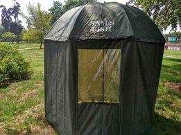 Зонт палатка для рыбалки окно d 2.5м