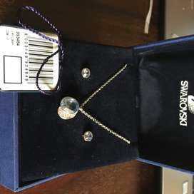 Brand new Swarovski Necklace and earring set
