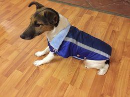 Одежда для собак Жилет-попона мех куртка зимняя одяг