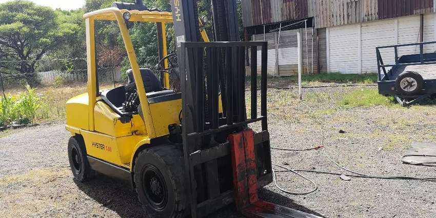 5ton Hyster forklift 0