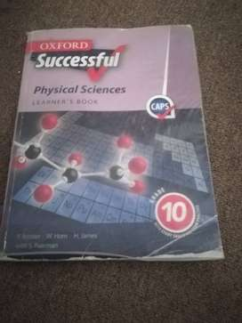 Physical Sciences grade 10 book