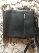 Продам кожаную сумку Bretton в хорошем состоянии