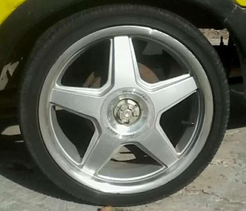 17inch Rims to swop for 15 inch with tyres or make an offer 0