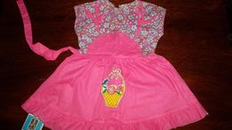 Новое летнее ситцевое платье для девочки на 2 годика, р-р 24-26