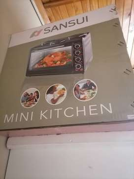 Selling brand new 3plates stove with oven