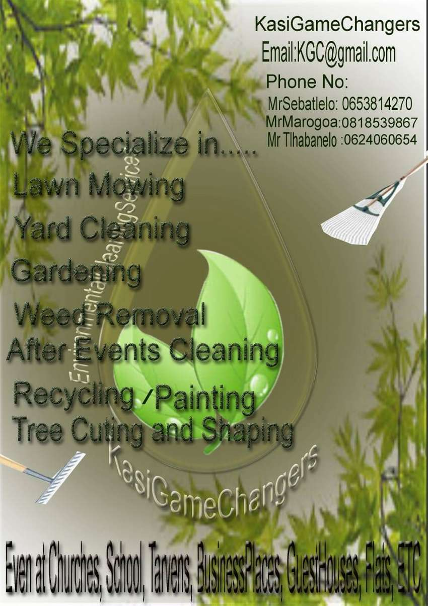 Environment cleaning service 0