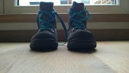 Wygodne ocieplane dziecięce buty zimowe, świetna marka, rozmiar 23