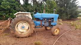 Ford 5000 tractor plus impliments