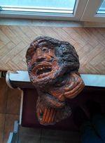 Уникальное изделие из капа - гавайский бог всех существ Kane.