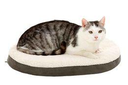 ліжко для собак Karlie Ortho Bed, Oval Liegebett, braun 55 x 40 x 7 cm