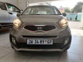 Kia Picanto 1.2  2016 model with Sunroof and automatic.