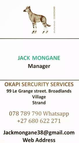 CONTACT US FOR ANY SECURITY SERVICES