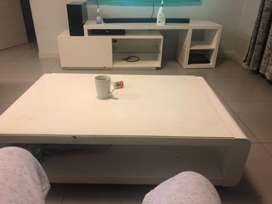 Tv stand and cofee table