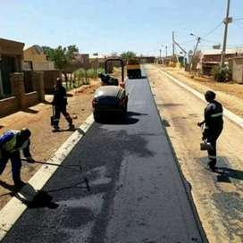 DOMESTIC AND INDUSTRIAL TAR LAYING