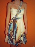 Sukienka szyfonowa