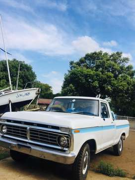 Good condition ford F150 truck restored