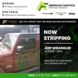 Now breaking Jeep Wrangler JK for spare parts!