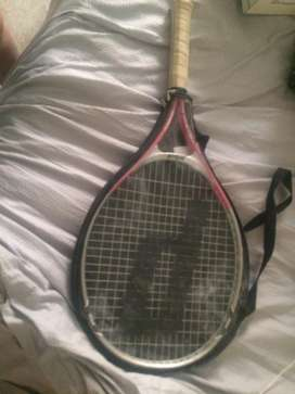 Prince tennis racket with protection
