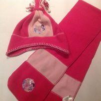 Шапка і шарфік фірми Disney на дівчинку 2-4 роки.