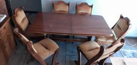 Dining table extendable 6 - 8 seater set: Price Drop!