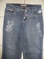 Piękne dżinsy z USA hafty cekiny W 28 Eastar