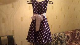 Платье для девочки 7-8 лет в отличном состоянии