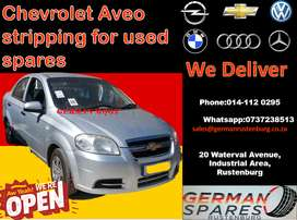 Chev aveo stripping for used spares