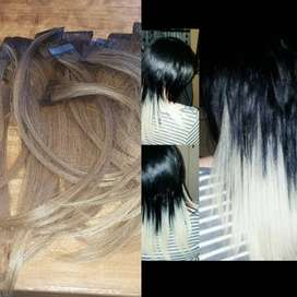 100% Human hair tape-in extensions
