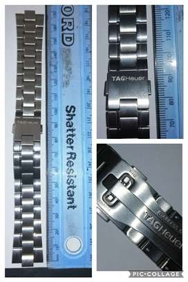 Tag heuer 3101 Y stainless steel watch strap(new) R2000