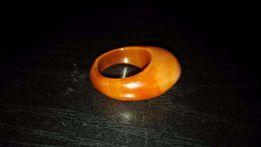 Продам цельнокаменное кольцо из сердолика.Р-р 18.