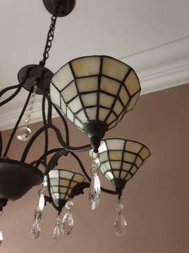 Stained Glass Pendant Chandelier Lights
