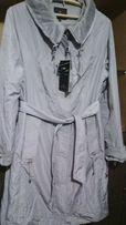 Женское фирменное демисезонное пальто размер 56-58 . 3000 руб.
