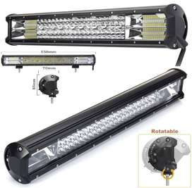 384W LED Quad-Row 7D Reflector Light Bar with Combo Beam. Brand New