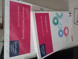 CIMA Management Text Books (F2 and Case Study Text) - R200