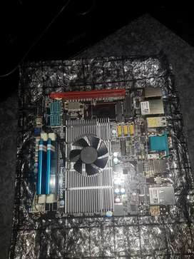 New AMD Motherboard 8gb ram complete combo