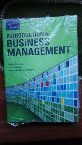Introduction to business management