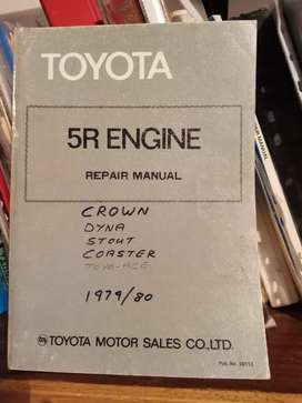 Toyota 5R engine, repair manual