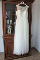suknia ślubna Aire Barcelona model Xenop, rozmiar 38 IVORY