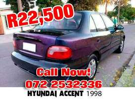 Used 1998 Hyundai Accent for sale for R22,500