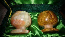 Рюмки из камня (оникс )
