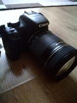 Canon 550d z obiektywem 18-135