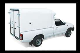 1 Ton Bakkies With High Volume Canopy Required.