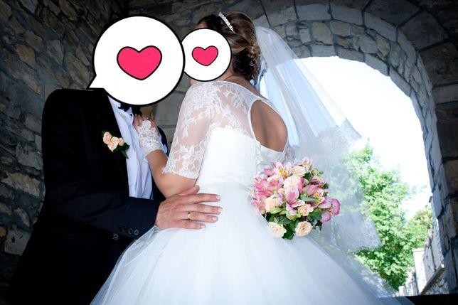 Весільне плаття ,гарне, стильне шампань не дорого ідеальний стан Тернополь - изображение 3