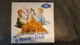 Książka książeczka bajki Wielka kolekcja bajek o Annie i Elsie