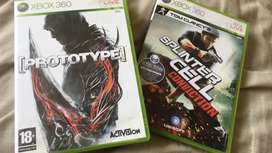 Splinter cell and prototype